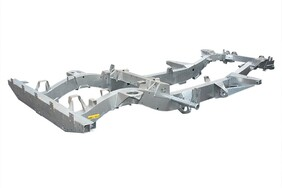 FULL GALVANSIED CHASSIS SUITABLE FOR DEFENDER 90 300TDI VEHICLES